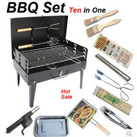 Outdoor camping hiking Charcoal Picnic Grill