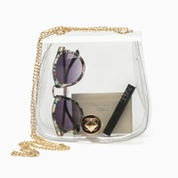 Purple Label - Melody Plastic Mini Bag (Clear)
