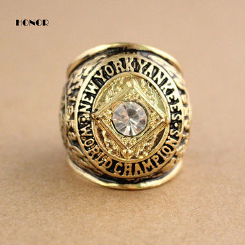 1958 NY World Series Championship Rings replica men fashion zinc alloy jewelry best gift for sp