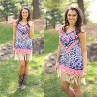 Skies Over Tribes Dress