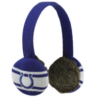 47 Brand Indianapolis Colts Womens Matchup Ear Muffs - Royal Blue/White