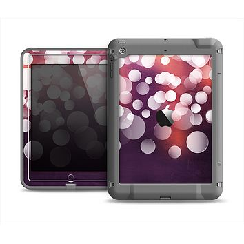 The Dark Purple with Glistening Unfocused Light Apple iPad Mini LifeProof Fre Case Skin Set
