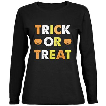 Halloween Donut Juniors T-Shirt - Walmart.com