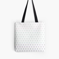 'Knot Star Pattern Pastel' Tote Bag by craftymummy