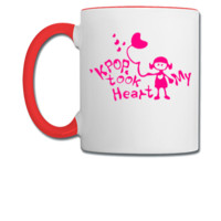 KPOP took my heart txt girl - Coffee/Tea Mug