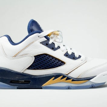 Air Jordan Big Kid's Retro 5 V Low GS Dunk from Above