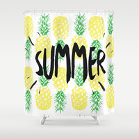 Summer  Shower Curtain by Ashley Hillman