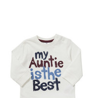 F&F Auntie Is the Best Long Sleeve T-Shirt