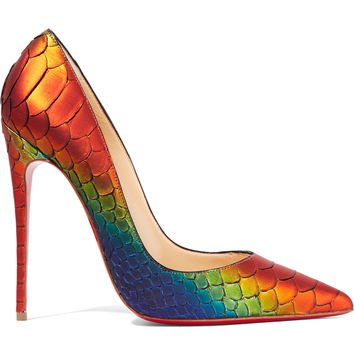 So Kate 120 python pumps | Christian Louboutin | US | THE OUTNET