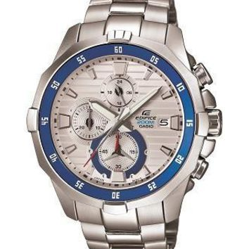 Casio Men's Edifice Marine Stainless Chronograph Watch