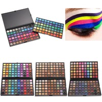 120 Colors Eye shadow Concealer Palette Shimmer Matte Eye Shadows Maquiagem Cosmetic Shadows Eyeshadow paleta de maquiagem