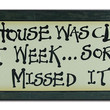 Clean House Afrocentric Wall Plaques