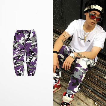 Militar Camouflage Pants Dark Soul Cargo Pants Men Skateboard Bib Overall Camo Pants  Ins Network With Bdu High Street Pants