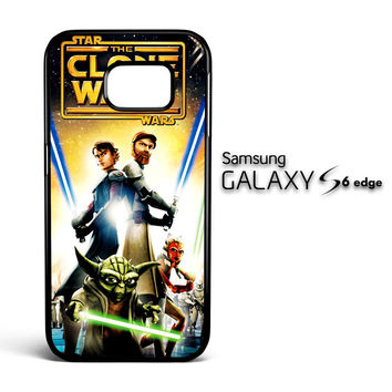 The Clone Wars film poster Z0599 Samsung Galaxy S6 Edge Case
