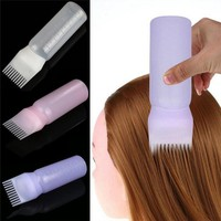 1Pc Hair Dye Bottle Applicator Brush Dispensing Salon Coloring Dyeing For Girls Women