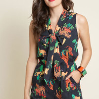 Proactive Panache Sleeveless Romper