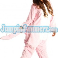 Pink Dragon Adult Kigurumi Costume - Costumes - Pajamas Footie PJs Onesuits One Piece Adult Pajamas - JumpinJammerz.com