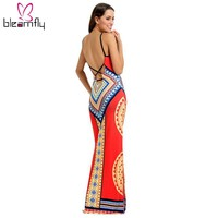 Dress Long hippie sexy Dashiki Sundresses