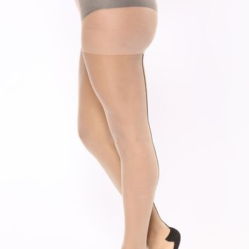 Going Bare Stockings - Beige