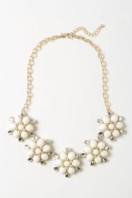 Blooming Fondant Bib Necklace - Anthropologie.com