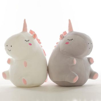 Unicorn Plush Toy 25 cm Plush Dolls For Children High Quality Soft Cotton Baby Brinquedos 35CM Animals For Gift
