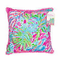 Lilly Pulitzer Large Pillow-Spot Ya
