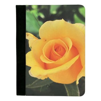 Yellow Rose in Nature Padfolio