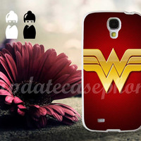 Wonder Woman Logo - Photo Print for iPhone 4/4s, iPhone 5/5S/5C, Samsung S3 i9300, Samsung S4 i9500 Hard Case