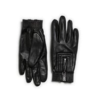 LEATHER GLOVES WITH ZIP - Woman - New this week | ZARA United States