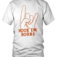 """Hook Em Horns"" University of Texas Longhorns Tee"