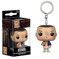 Funko Stranger Things Eleven with Eggo Pocket Pop! Key Chain