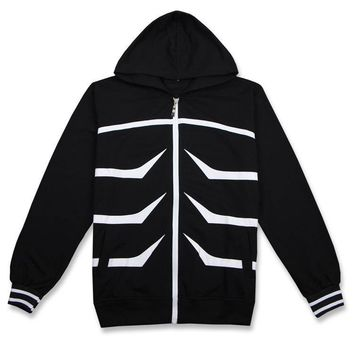 Anime Tokyo Ghoul Cosplay Costumes Kaneki Ken Long Sleeve Hooded Hoodie Daily Casual Costume Size M-XXL