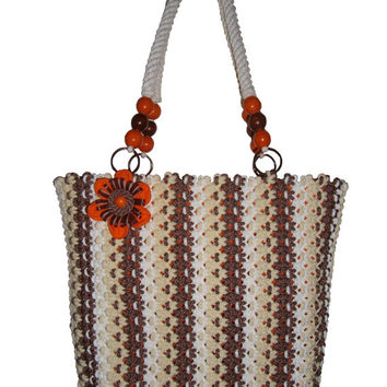 Handmade,Macrame,Handmade fashion bag