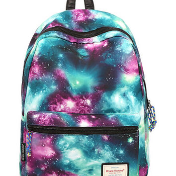 Women Backpack Galaxy Pattern