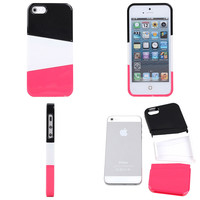 Three color mix case for iphone4/4s/5