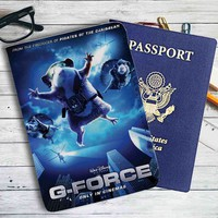 G-Force Movie Leather Passport Wallet Case Cover