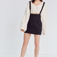 Silence + Noise High-Rise Suspender Mini Skirt | Urban Outfitters
