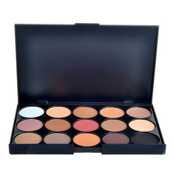 15 Color Matte Eyeshadow Palette
