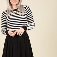 Essential Element Skater Skirt in Black