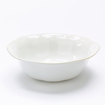 Food Network Fontinella 12-in. Serving Bowl (White)