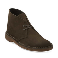 Desert Boot-Men in Olive Suede - Mens Desert Boot from Clarks