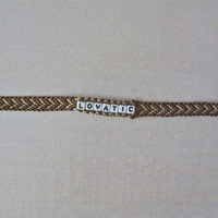 Brown & Light Brown LOVATIC Bracelet