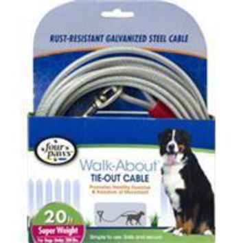 Four Paws - Container - Four Paws Dog Tie Out Cable- Super Weight