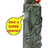 BIC lighter Metal protect Designer case.#13 (lighter is not inlcuded)