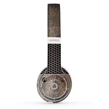 The Bolted Rustic Metal Sheets Skin Set for the Beats by Dre Solo 2 Wireless Headphones