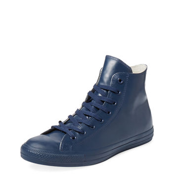 Converse Men's Chuck Taylor Rubber Hi Top - Dark Blue/Navy