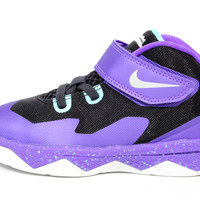 Nike Toddler's Soldier VIII TD Purple/White Basketball Shoes 653647 500