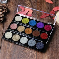 IMAGIC 2017 Rushed  3 Color Pressed Glitters Eyeshadow Glitterinjections Make Up Glitter Eye Shadows Eyeshadows Palette Cosmetic