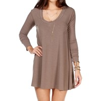 Taupe Relax Tunic