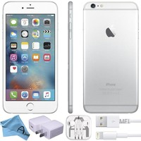 Apple iPhone 6 Factory Unlocked GSM 4G LTE Smartphone (Certified Refurbished) (Silver, 16 GB)
